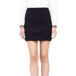 Club Monaco Carrie Quilted Knit Skirt